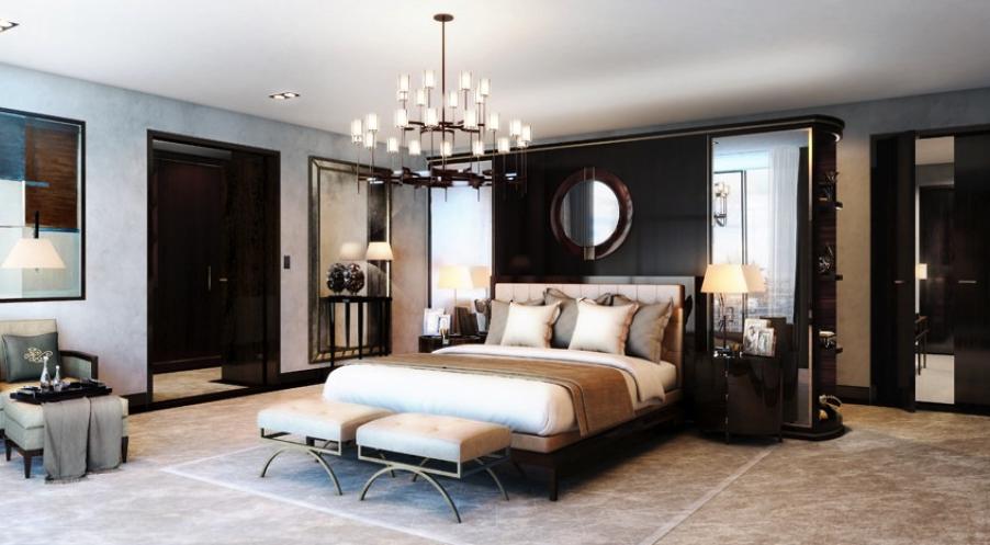 David Linley bedroom
