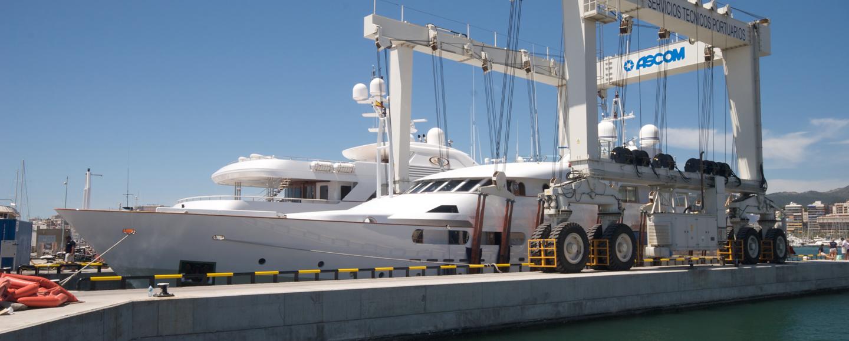 pure refit yacht